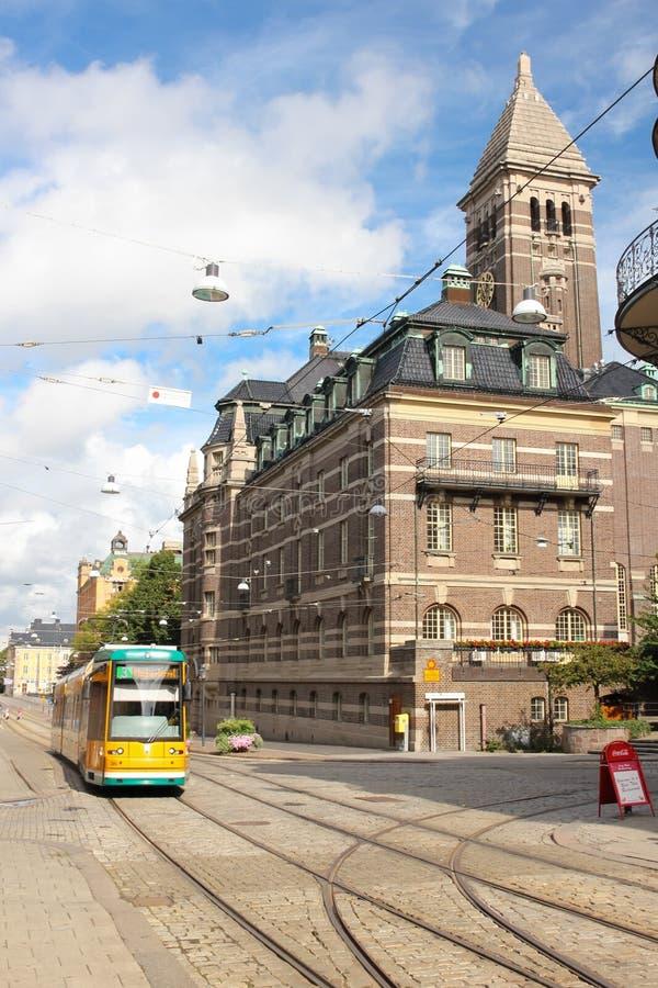 市政厅。诺尔雪平。瑞典 库存图片