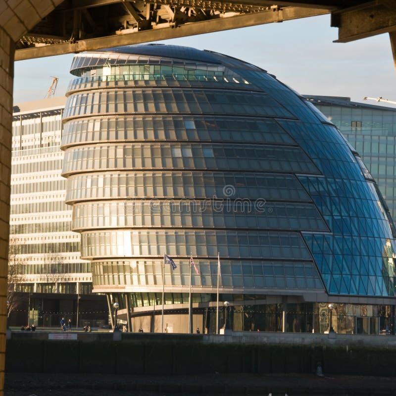 市政厅伦敦s 图库摄影
