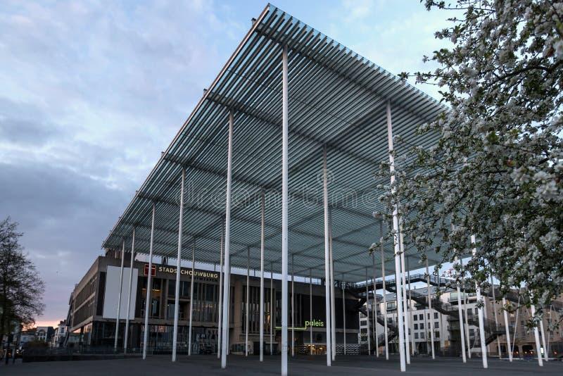 市政厅安特卫普比利时 免版税库存图片