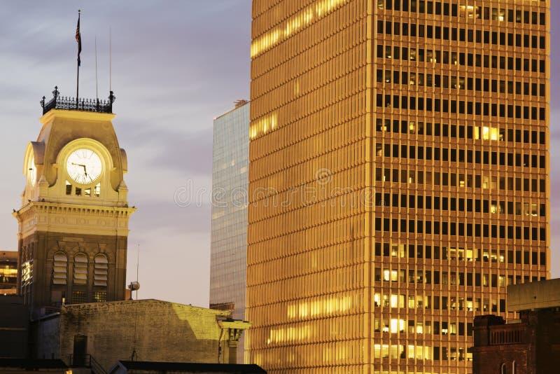 市政厅有历史的路易斯维尔 库存照片