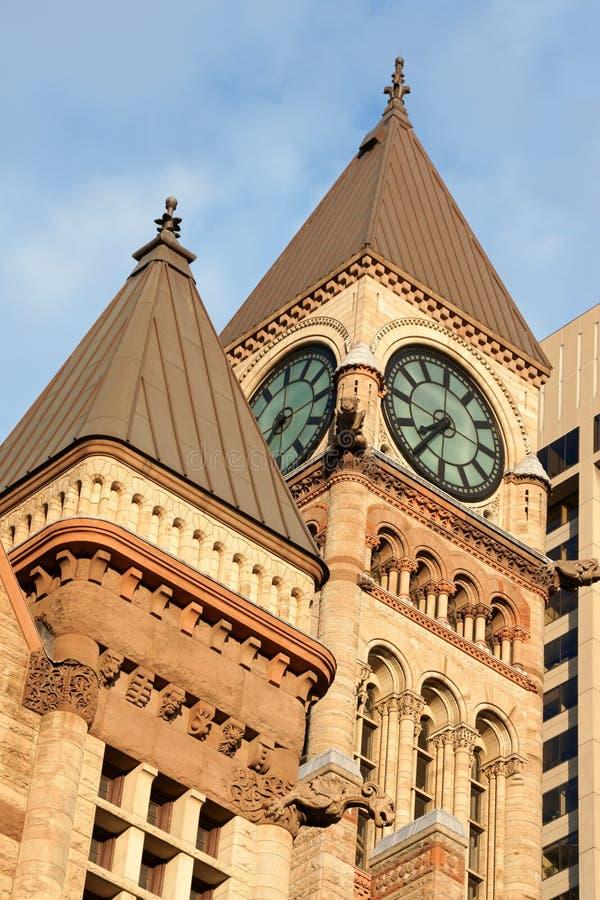 市政厅老多伦多 免版税库存照片