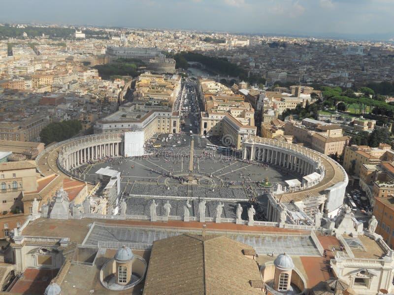 市梵蒂冈 库存照片