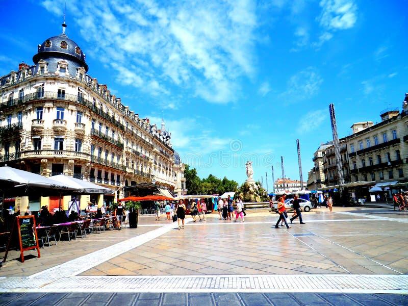 市法国 库存照片