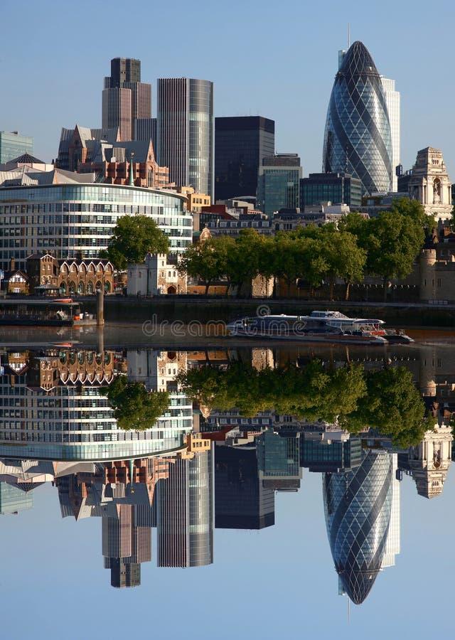 市现代伦敦,英国 图库摄影