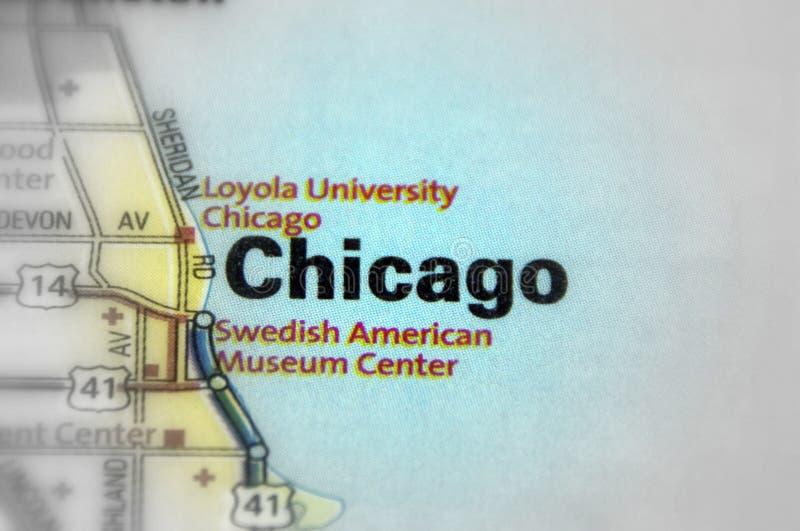 市芝加哥,伊利诺伊-美国 免版税图库摄影
