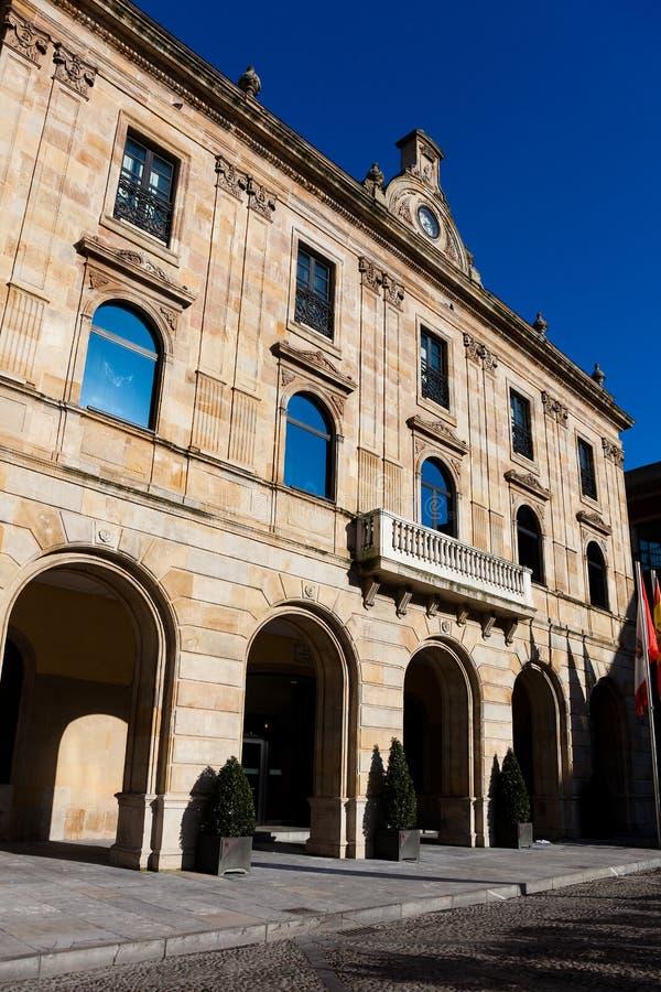 市议会gijon 图库摄影