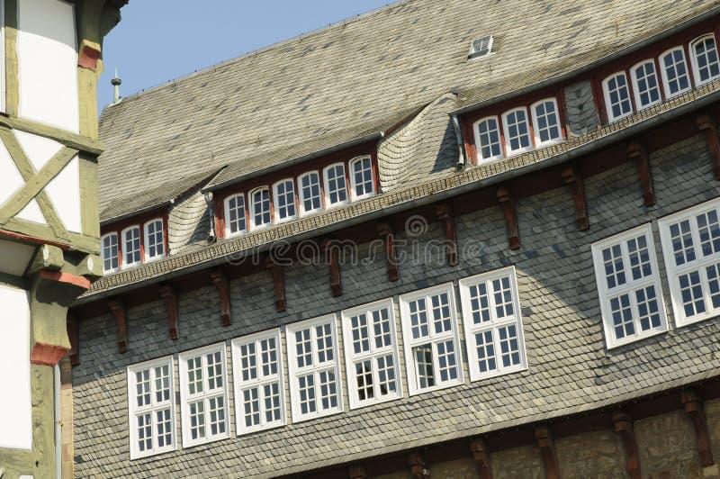 市Fritzlar,城镇厅 免版税库存照片