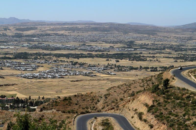 市Mekele在埃塞俄比亚 图库摄影