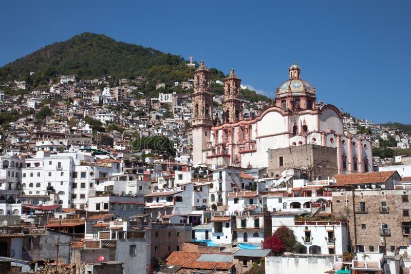 市Taxco,墨西哥 免版税图库摄影