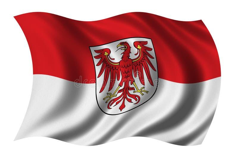 布兰登堡 皇族释放例证