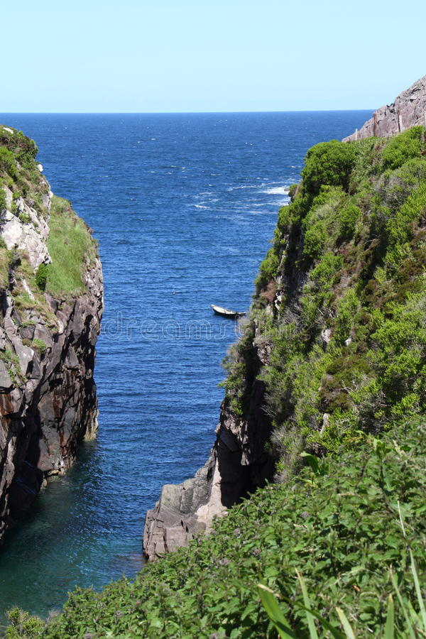 布兰登小河Slea头推进幽谷半岛凯里郡爱尔兰 免版税库存图片