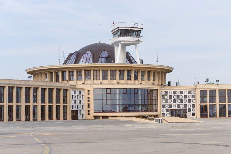 布加勒斯特Aurel Vlaicu机场 免版税库存照片
