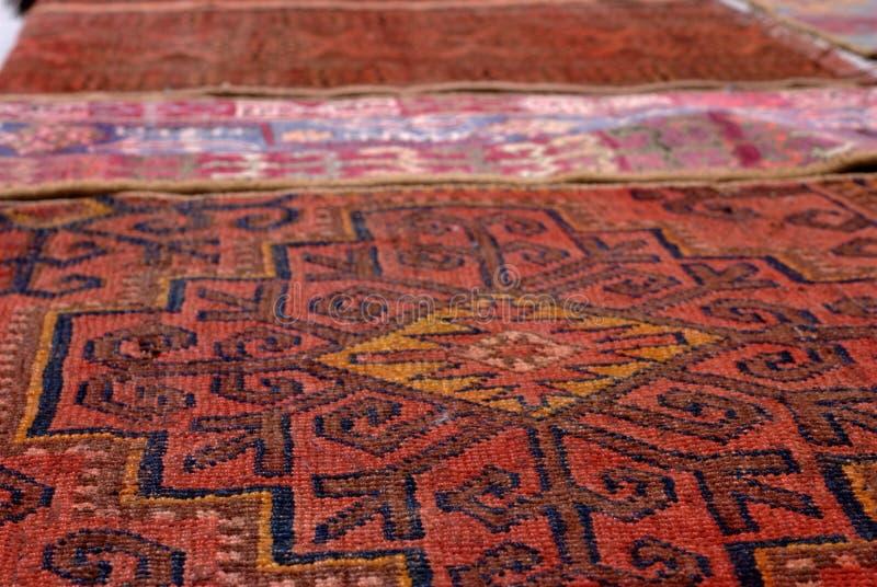 布哈拉地毯 免版税图库摄影