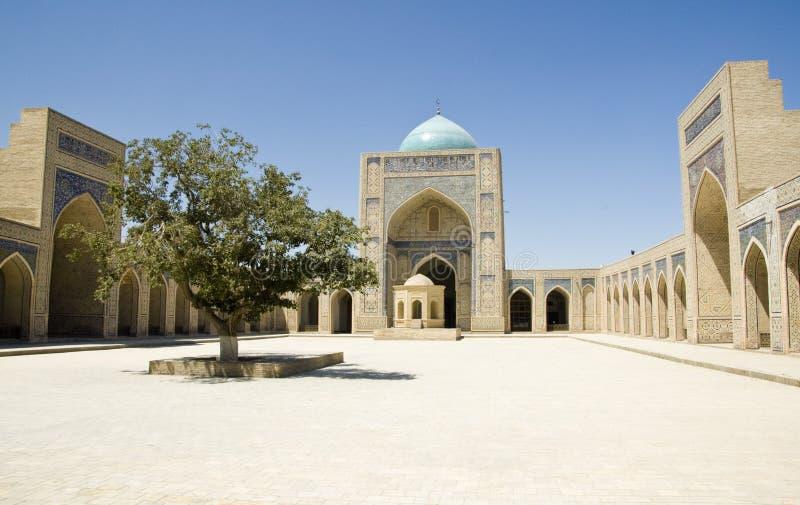 布哈拉kalyan清真寺 免版税库存照片