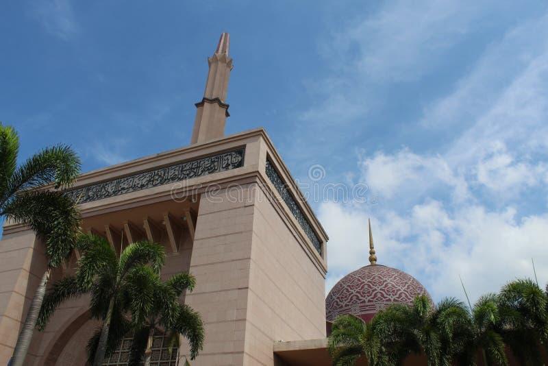 布城清真寺 免版税库存图片