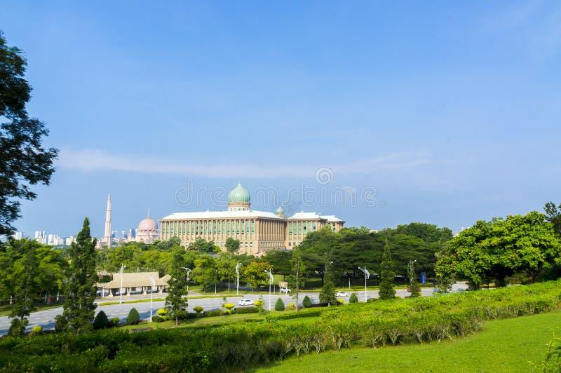 布城都市風景晴天,馬來西亞圖片