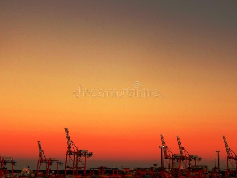 布宜诺斯艾利斯港 免版税库存照片