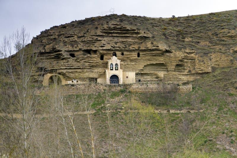 布尔戈斯教会tosantos 库存图片
