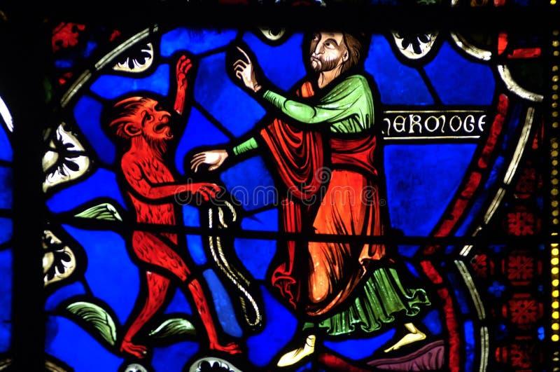 布尔日大教堂法国 库存图片