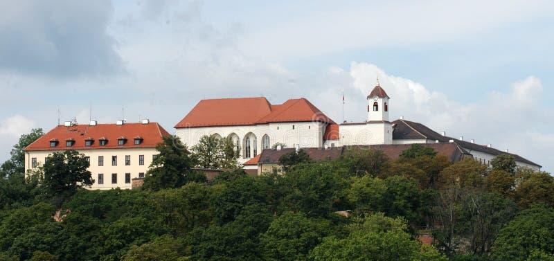 布尔诺城堡spilberk 免版税库存图片