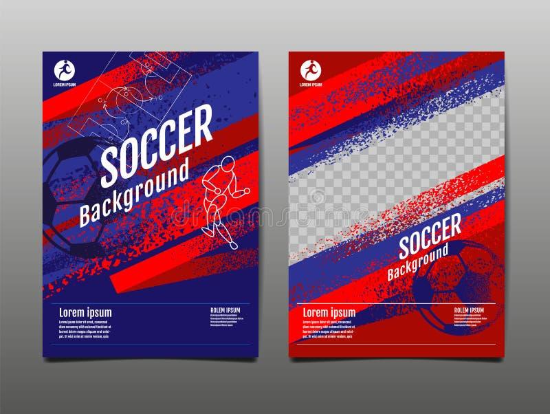 布局模板设计,体育背景,动态海报,刷子速度横幅,传染媒介例证 库存例证
