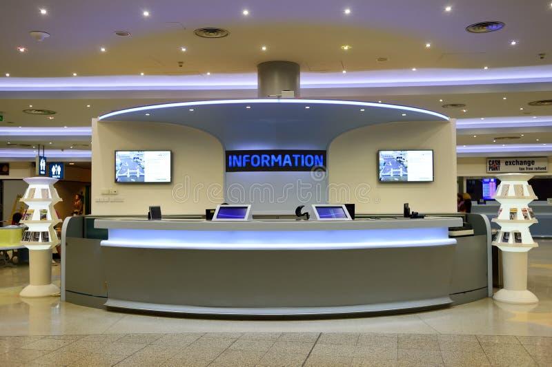 布拉格国际机场  免版税库存图片