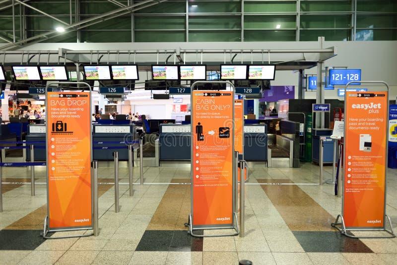 布拉格国际机场  免版税库存照片