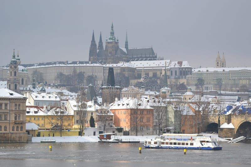 布拉格在捷克 库存图片