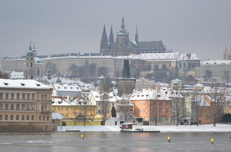 布拉格在捷克 免版税库存图片