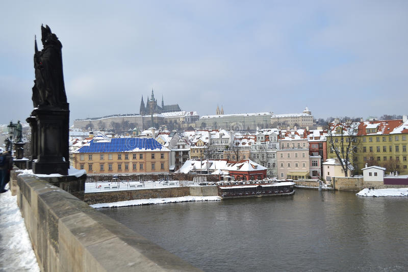 布拉格在捷克 免版税库存照片