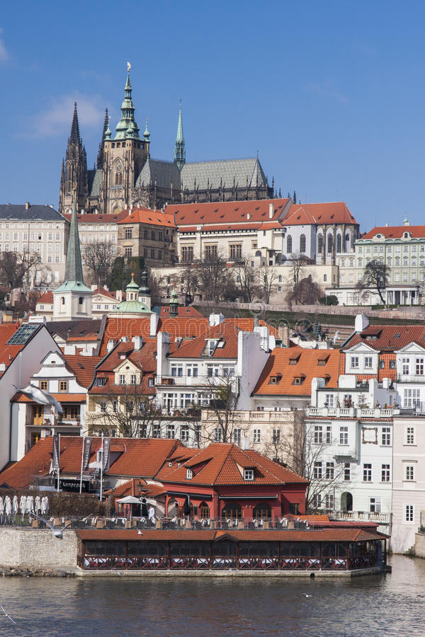 布拉格城堡 免版税库存照片