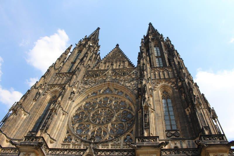 布拉格大教堂 免版税库存图片