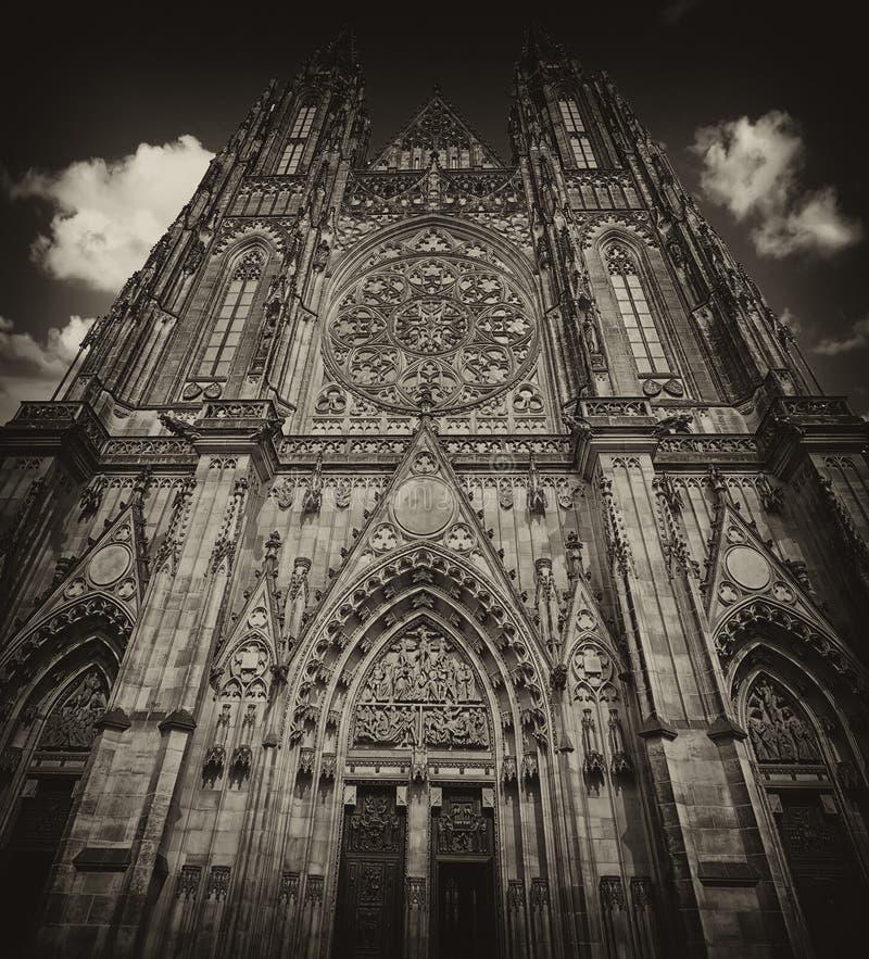 布拉格大教堂 免版税库存照片