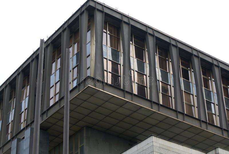 布拉格现代零件的国家博物馆 库存照片