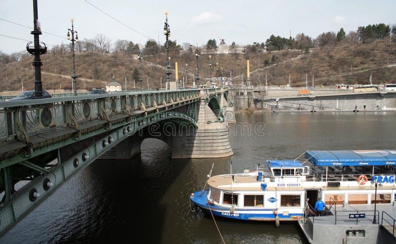 布拉格,捷克共和国 E 免版税库存照片