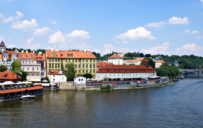 布拉格-伏尔塔瓦河河的 免版税图库摄影