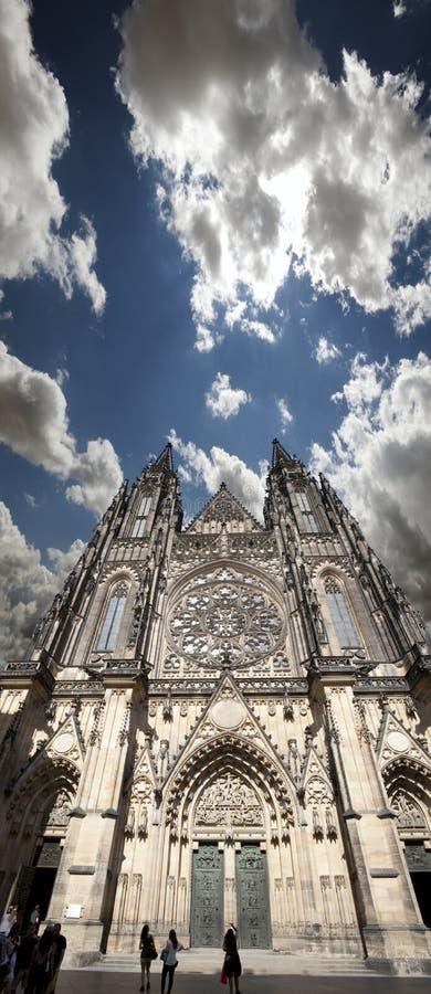 布拉格-圣Vitus大教堂 库存图片