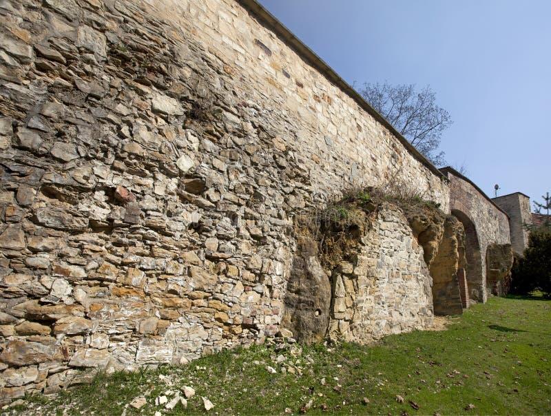 布拉格-饥饿墙壁 免版税图库摄影