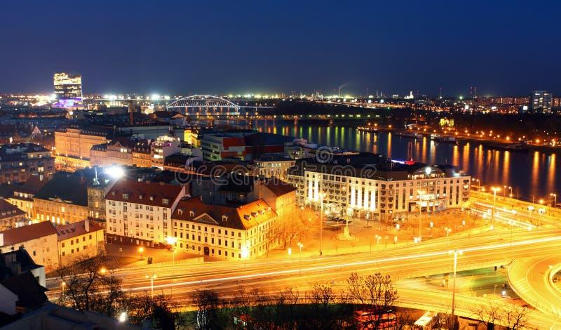 布拉索夫城堡cityspace全景 免版税库存图片