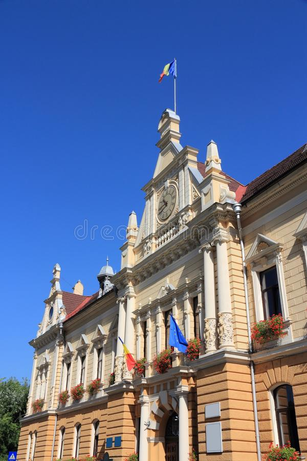 布拉索夫城镇厅 库存图片
