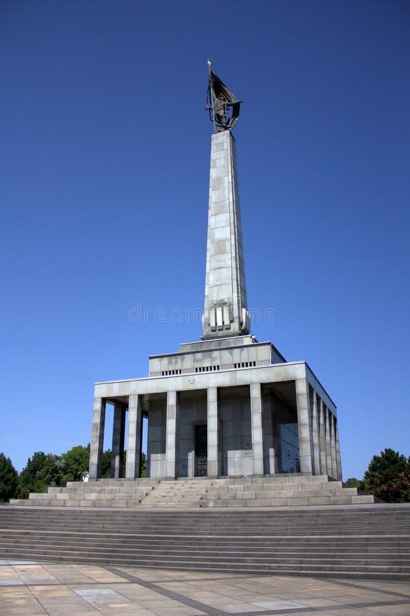 布拉索夫- Slavin纪念碑 库存照片