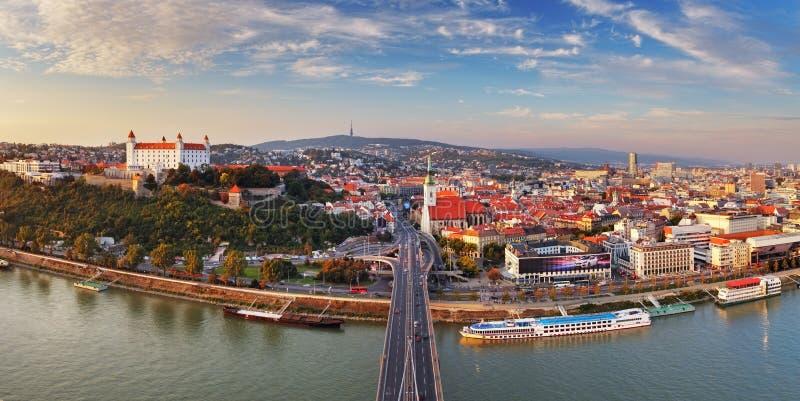 布拉索夫全景-斯洛伐克 免版税库存图片