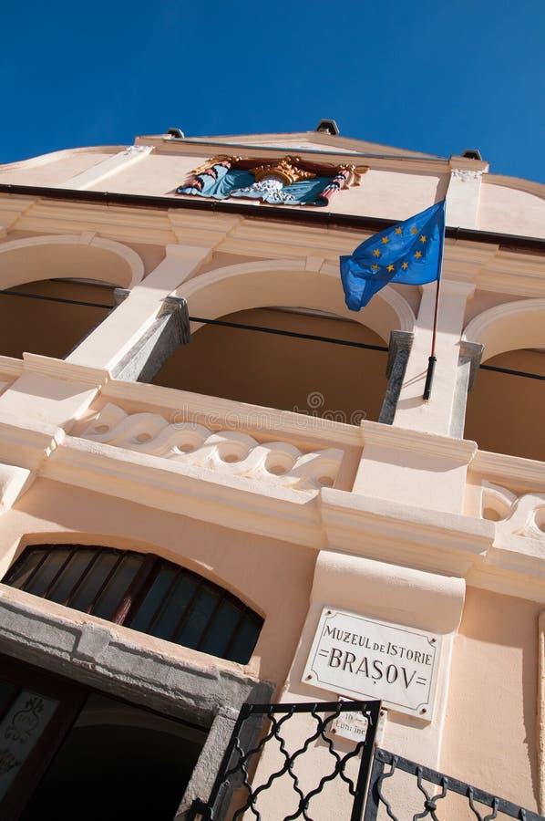 布拉索夫历史博物馆 免版税库存图片