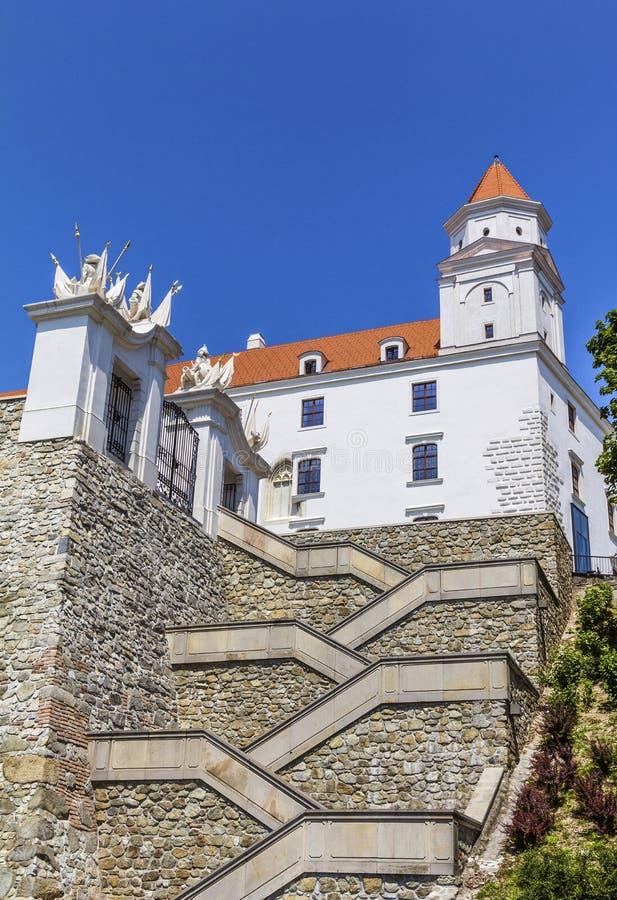 布拉索夫城堡,斯洛伐克 库存图片
