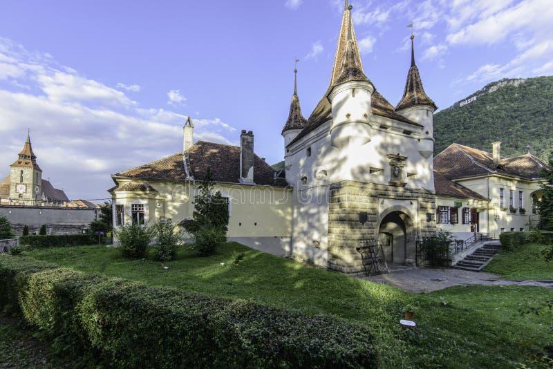 布拉索夫,罗马尼亚,欧洲,凯瑟琳` s门 免版税库存图片