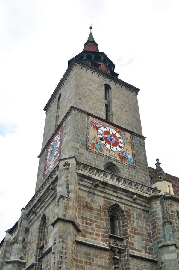 布拉索夫黑人教会 库存照片