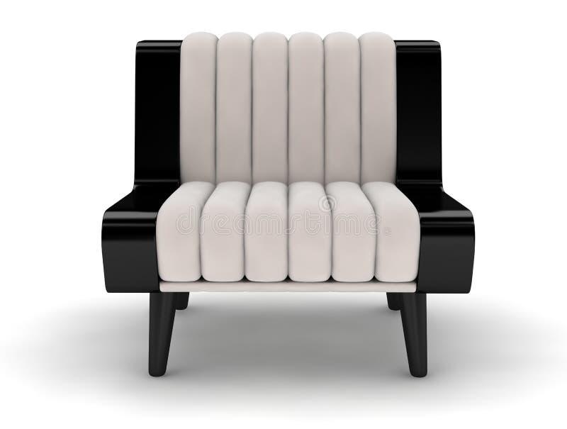 布料沙发 向量例证