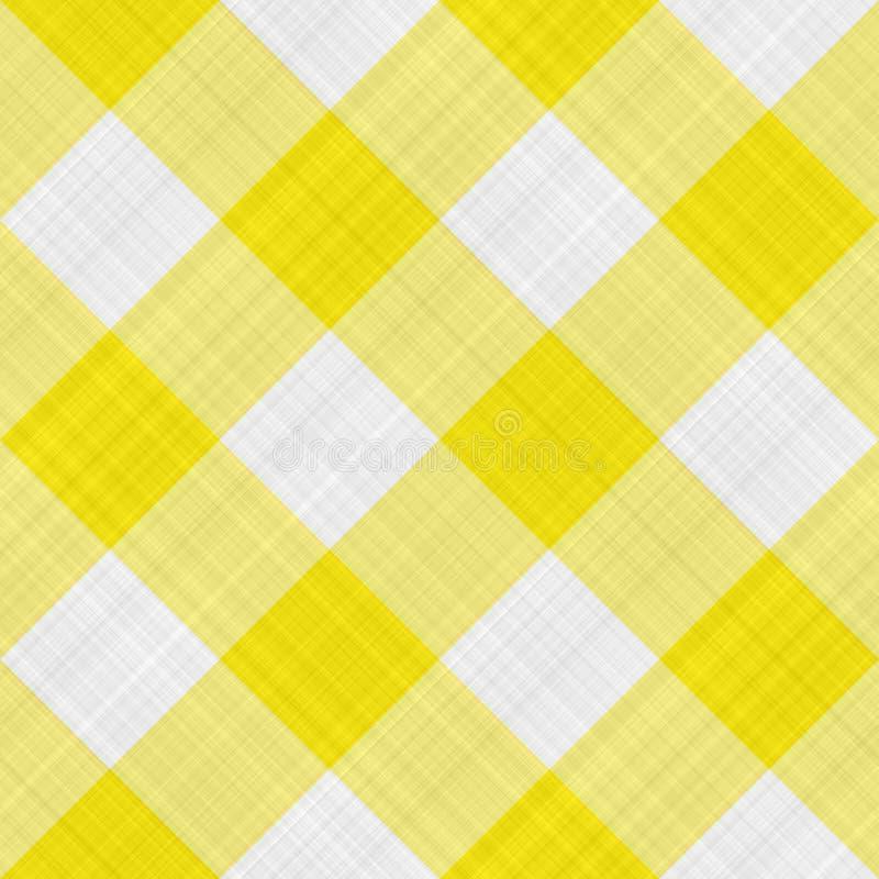布料表黄色 皇族释放例证