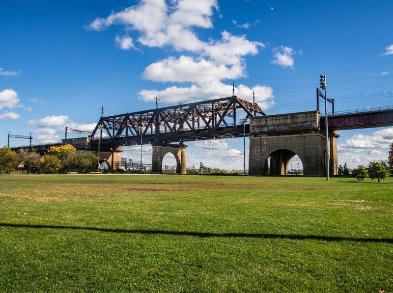 布朗克斯杀害桥梁 库存照片