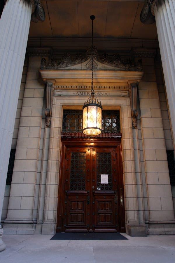 布朗大学常春藤盟校位于上帝的学院校园,罗德岛州 免版税库存照片